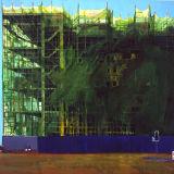 Traffic Lights oil on canvas 178 x 188 cms