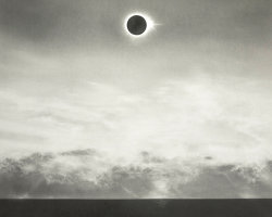 Eclipse Over Sea