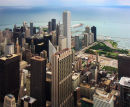 Lake Michigan from above