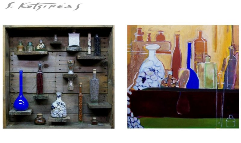 SPICES OF LIFE AND BEYOND (diptych) 2010