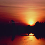 Srah Srang Lake Sunrise