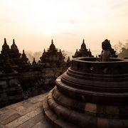 Borobudur Buddha Sunrise