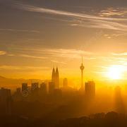 Sunrise on KL