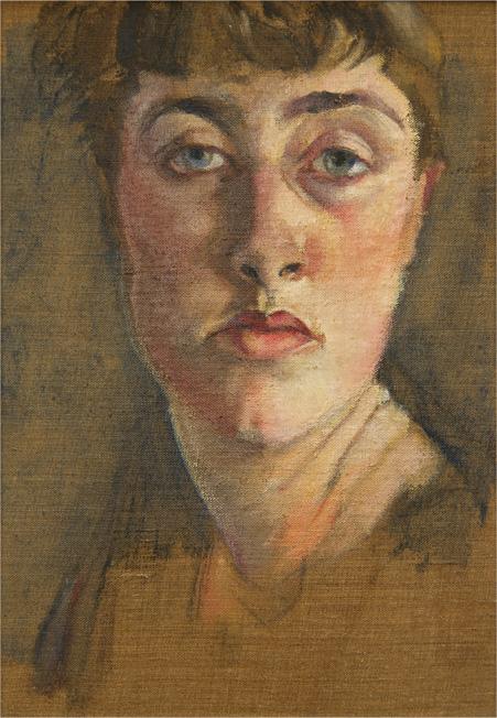 Felicia Browne, Self Portrait, date unknown.