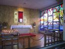 St Anthony of Padua, Blessed Sacrament window, 5m x 3m