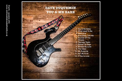 DAVE DUQUEMIN - 'YOU & ME BABE' ALBUM