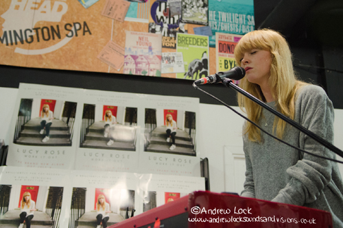 LUCY ROSE - HEAD RECORDS IN-STORE 2015