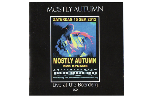 MOSTLY AUTUMN - LIVE AT THE BOERDERIJ CD AND DVD