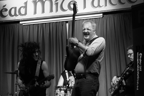 WITH PAT McMANUS BAND - ST. PATRICK'S CLUB, LEAMINGTON SPA 2014