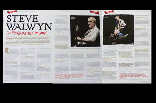 STEVE WALWYN - CLASSIC ROCK SOCIETY MAGAZINE INTERVIEW