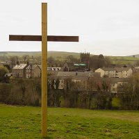 The Cross erected on Kirkby Hill