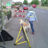 Mastering pavement obstacles
