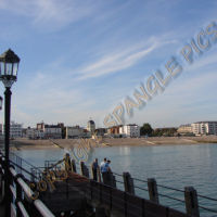 Worthing from Pier