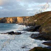 Shoreline of Celtic Sea, Cornwall