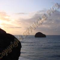North Cornwall coast at Treknow