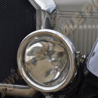 Front light on Humber Car