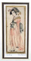 Geisha peach Iris Davies