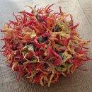 Eruption fibre art by Tadek Beutlich