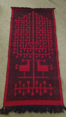 Tadek  Beutlich Double weaving tapestry