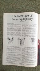 The Journal Technique of Free Warp Tapestry