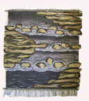 "Wall hanging by Fay Hankins ""Babbling Brook"""