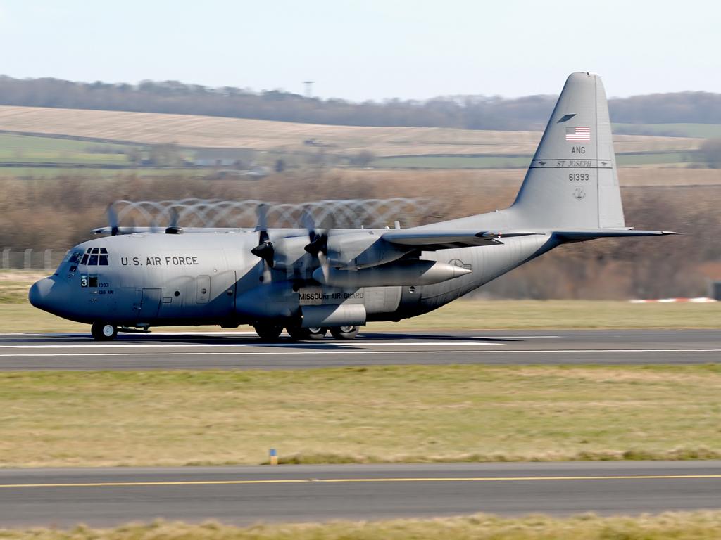 USAF Lockheed Hercules C-130H 86-1393.