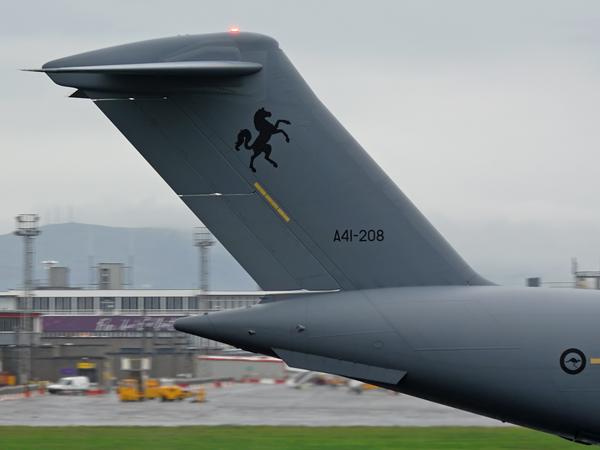 RAAF  Boeing  C-17   Globemaster III    A41-208