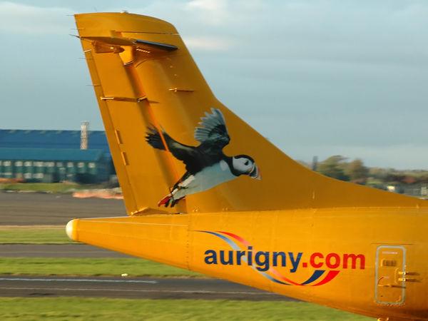 Aurigny Air Service Ltd<br> Areospatiale ATR-72-202
