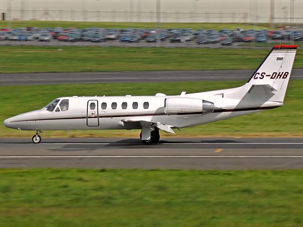 Netjets    Cessna 550 Citation III   CS-DHB