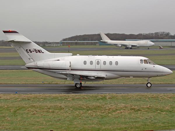 BAE 125 Hawker 800XP    CS-DNL