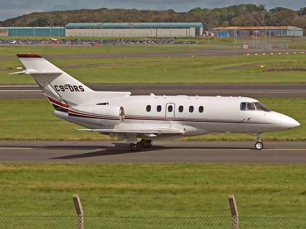 Netjets    BAe.125 Hawker 800XP   CS-DRS