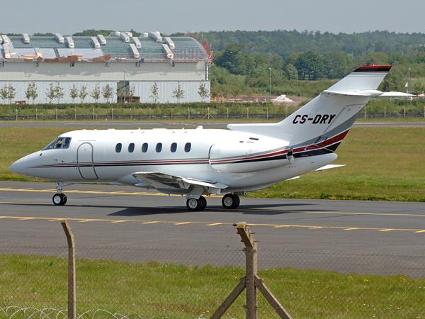Netjets    BAe.125 Hawker 800XPi   CS-DRY