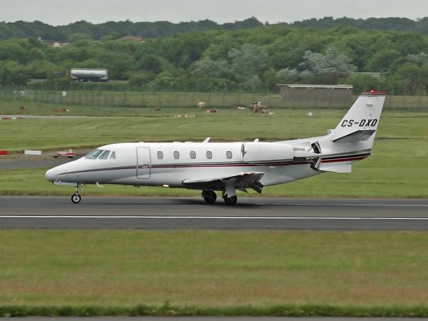 Netjets      Cessna 560XL Citation XLS     CS-DXD