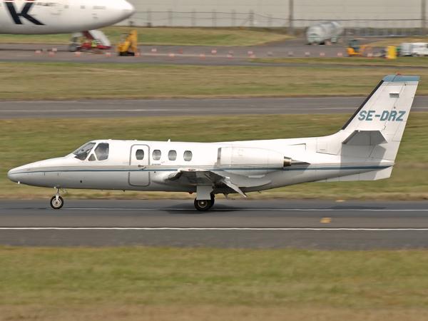Cessna 500 Citation  SE-DRZ