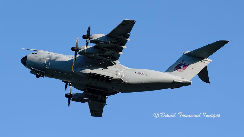 RAF  Airbus A400M     ZM409