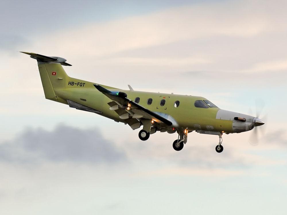 Pilatus PC-12/47E  HB-FQT (1445)