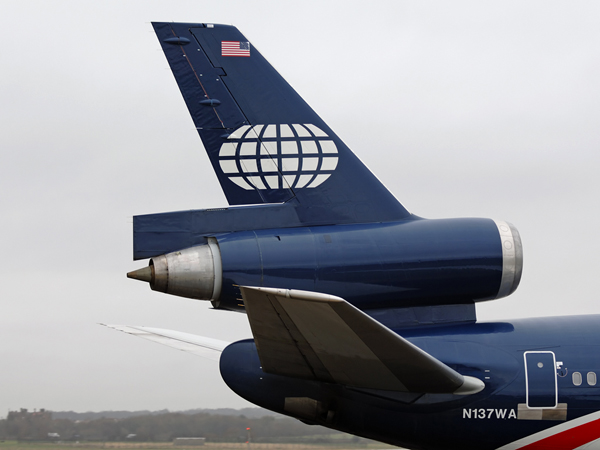 World Airways      McDonnell Douglas  DC-10-30  N137WA