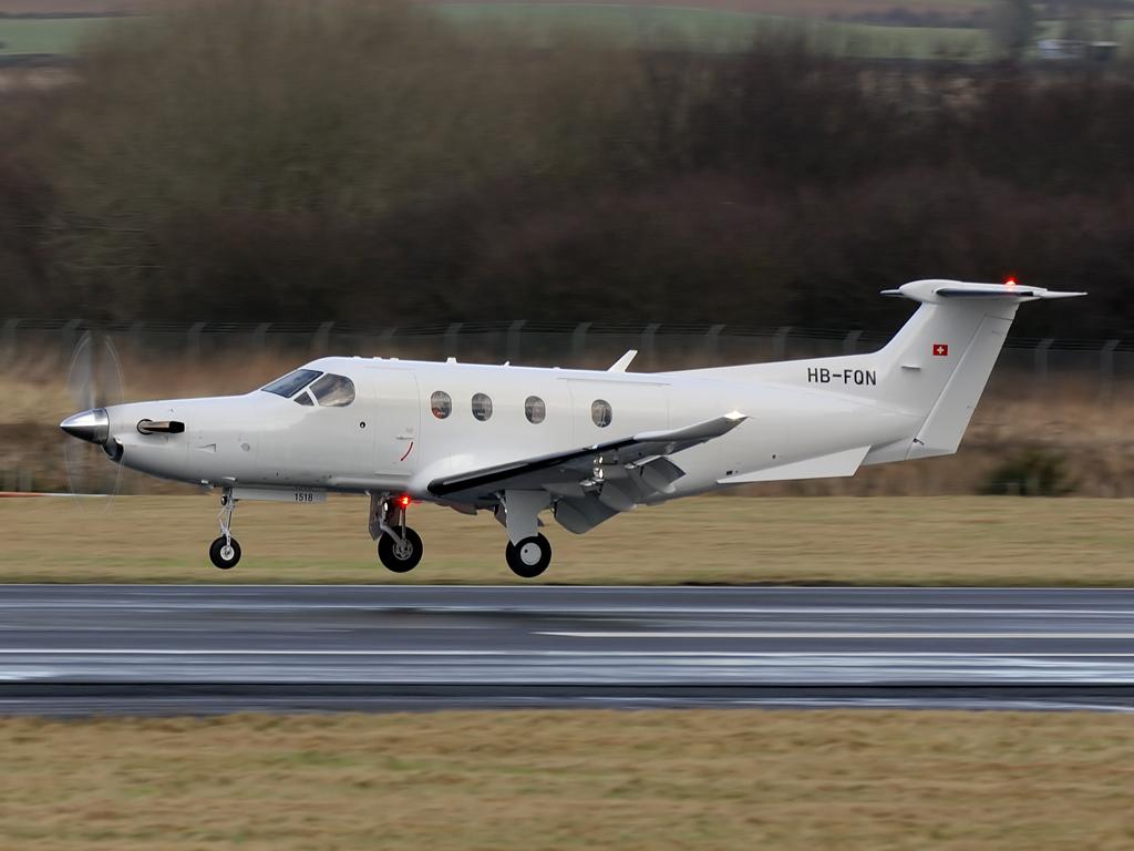 Pilatus  PC-12/47E   HB-FQN (1518)