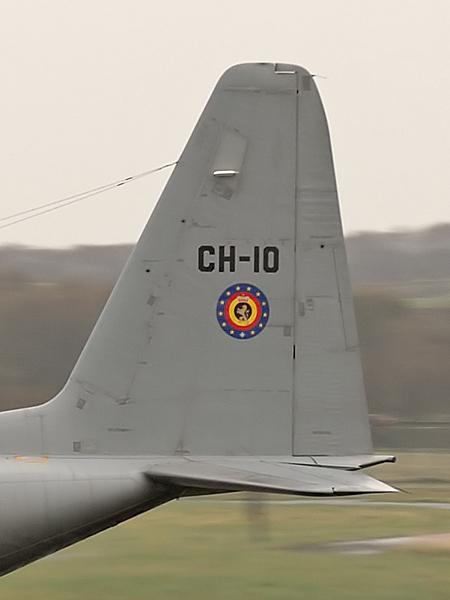Belgian Air Force Lockheed C-130H Hercules  CH-10