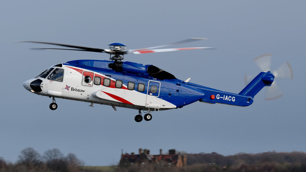 Bristow Sikorsky S-92A   G-IACG