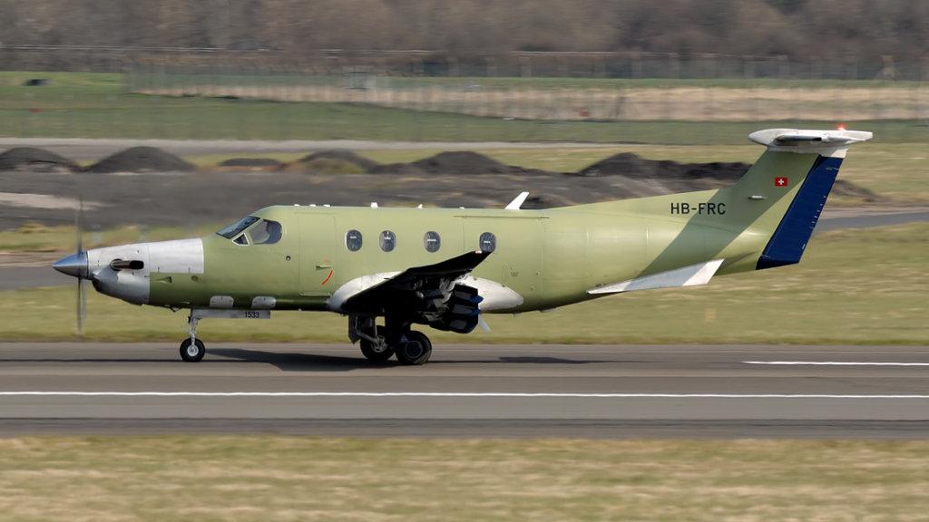 Pilatus  PC-12/47E   HB-FRC (1533)