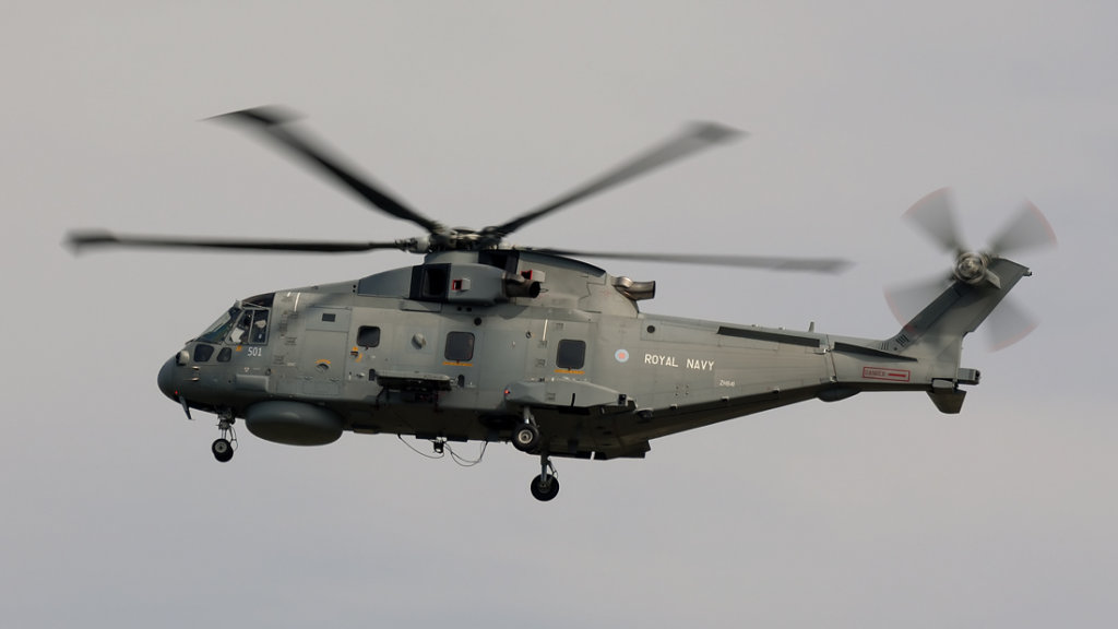 Royal Navy   EHI-101 Merlin HM1   ZH841