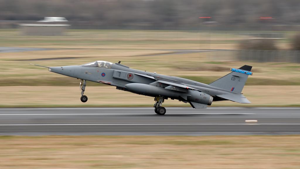 RAF  Sepecat Jaguar GR3A     XX738