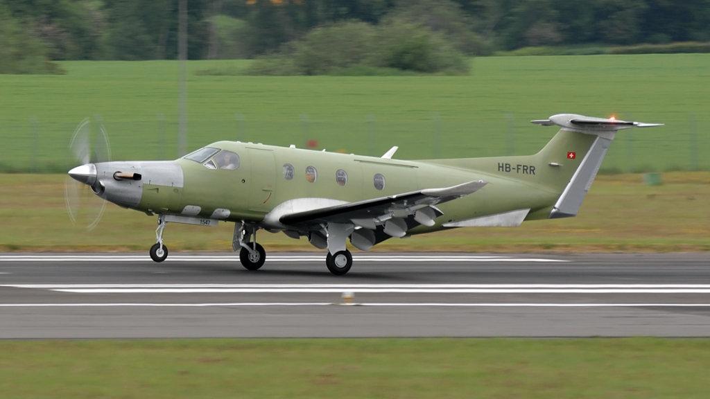Pilatus  PC-12/47E   HB-FRR (1547)