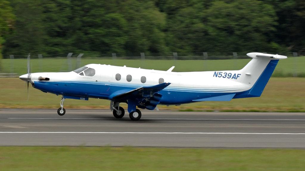 Pilatus  PC-12/47E   N539AF (1539)