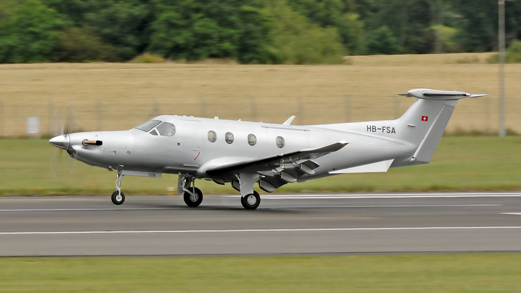 Pilatus  PC-12/47E   HB-FSA (1556)