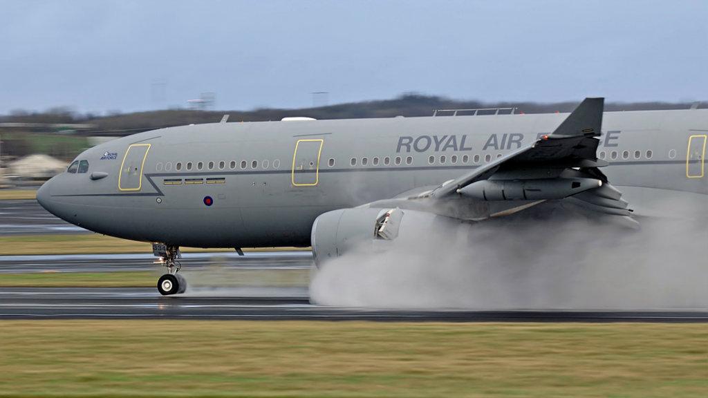 RAF  Airbus Voyager KC3   ZZ334