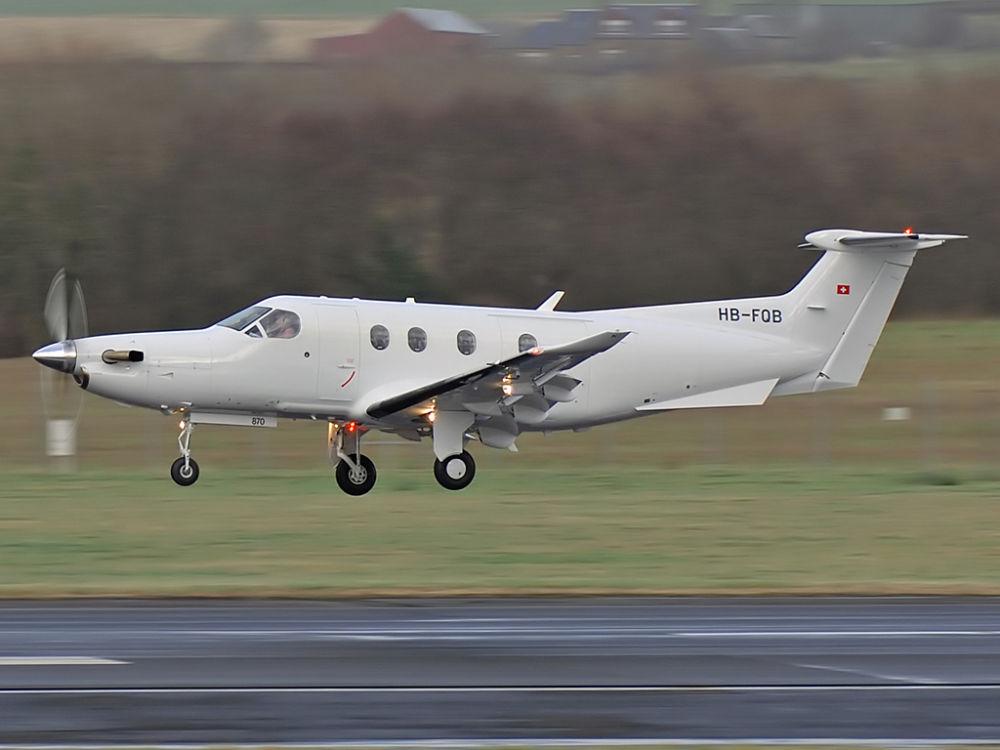 Pilatus  PC-12/47  HB-FQB (870)