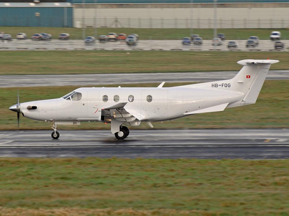 Pilatus PC-12/47    HB-FQG (CN 875)