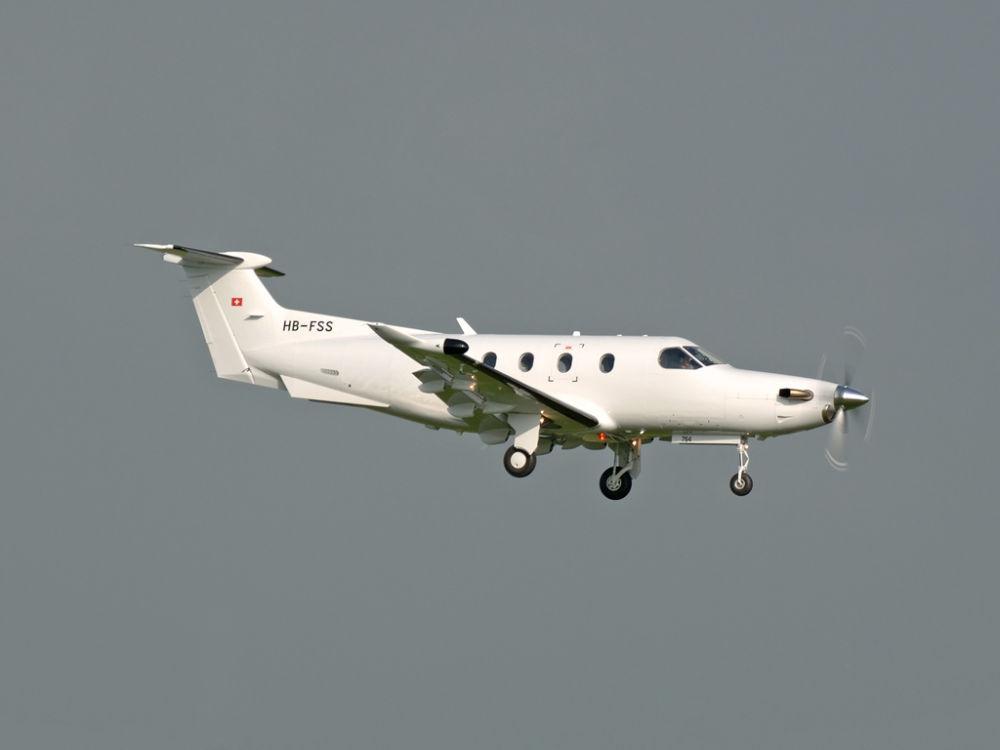Pilatus PC-12-47  HB-FSS  (764)